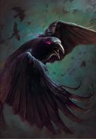 Gwent cardart skellige crow .png