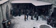 Netflix Geralt confronts Calanthe