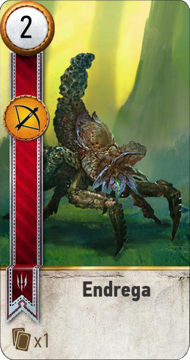 Endrega (gwent card)