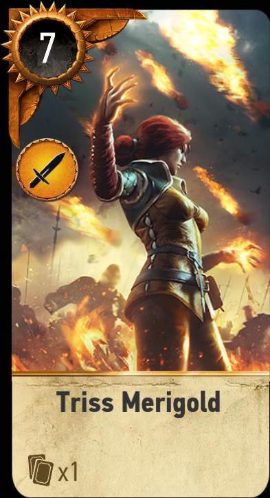 Triss Merigold (gwent card)