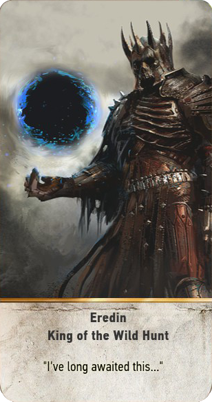 Eredin: King of the Wild Hunt (gwent card)