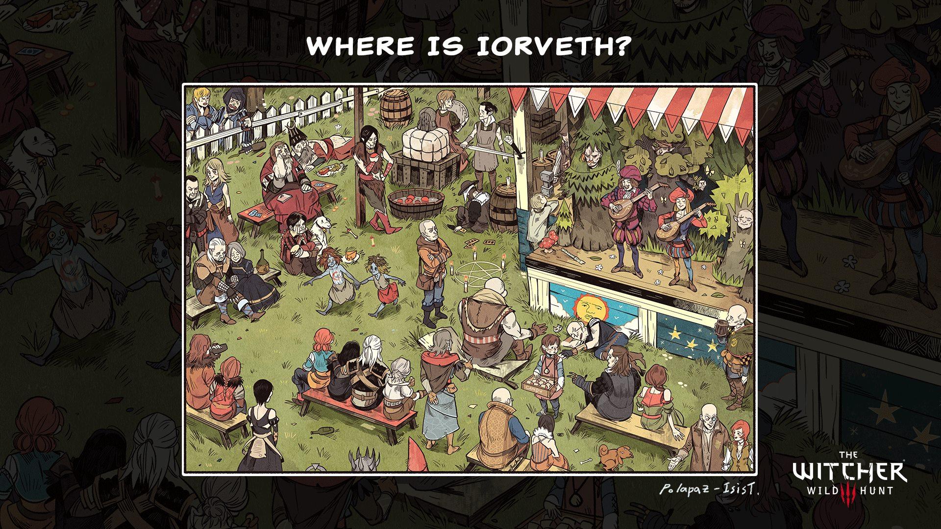 Where is Iorveth?