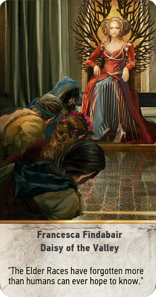 Francesca Findabair: Daisy of the Valley (gwent card)