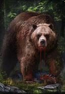 Tw3 cardart skellige young berserker bear