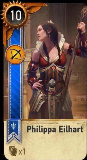 Philippa Eilhart (gwent card)