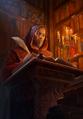 Gwent cardart syndicate firesworn scribe
