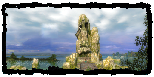 Lady of the Lake's altar