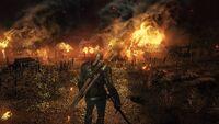 Witcher3BurningTown