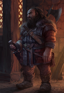 Gwent cardart syndicate Cleaver's muscle