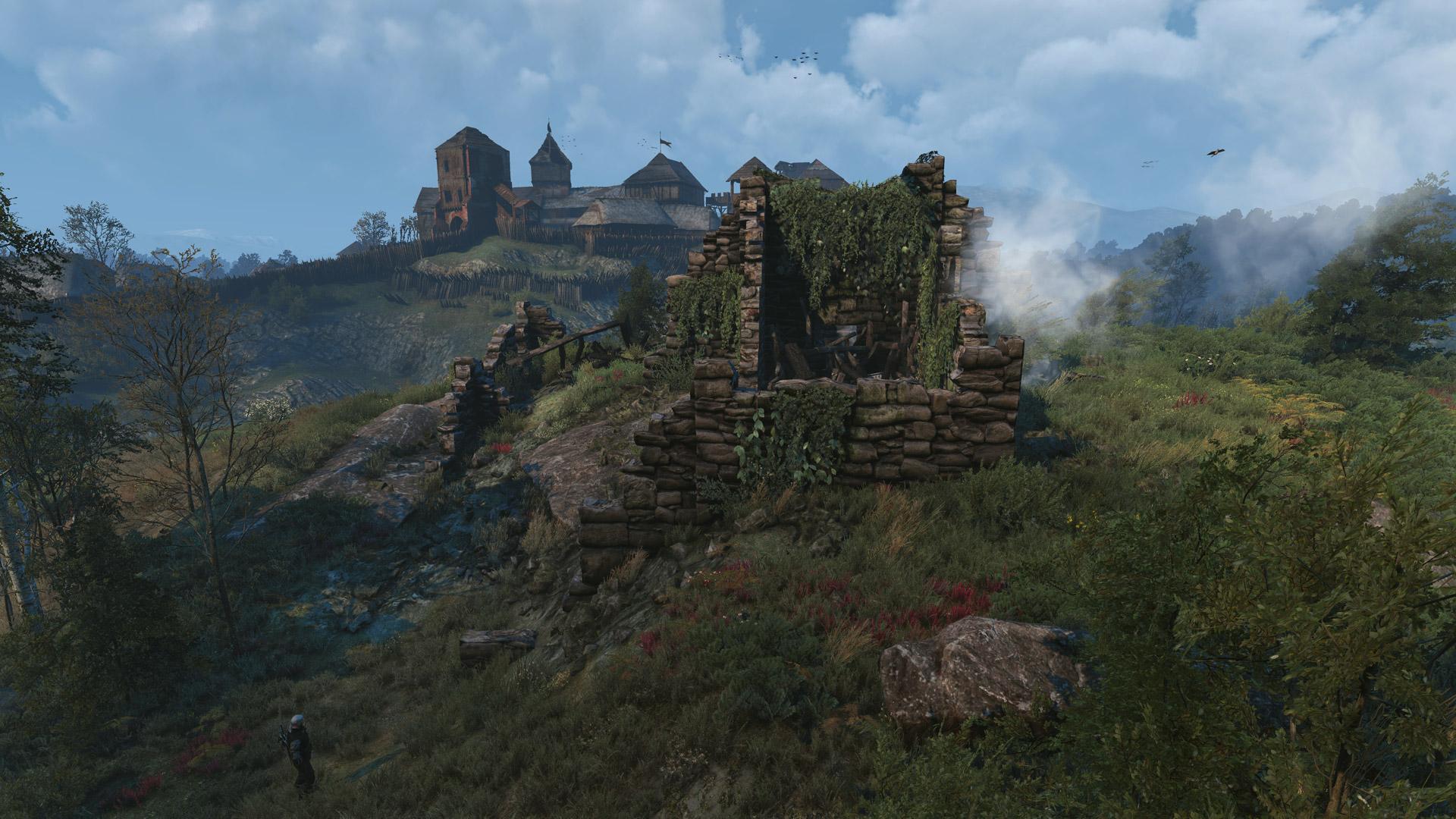 Burned Ruins