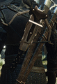 Tw3 crossbow on back