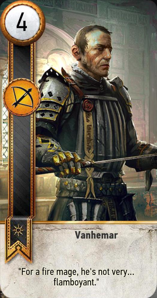 Vanhemar (gwent card)