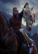 Gwent cardart monsters auberon conqueror
