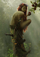 Gwent cardart scoiatael young dryad