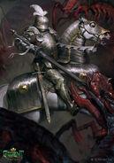 Gwent cardart nilfgaard toussaint knight errant