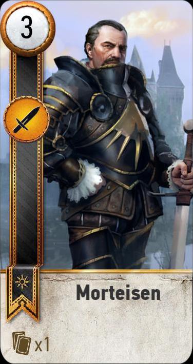 Morteisen (gwent card)