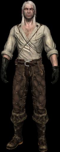 Geralt paper dolls