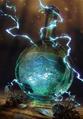 Gwent cardart neutral thunderbolt