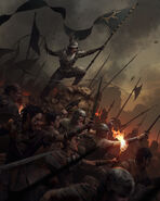 Gwent cardart nilfgaard slave infantry