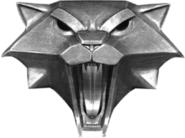 The witcher cat school medallion