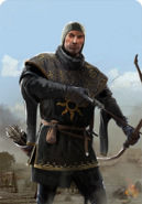 Tw3 cardart nilfgaard black infantry archer 1