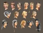 Ciri hair concept eurogamer
