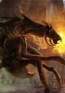 Tw3 cardart monsters frightener