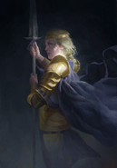 Gwent cardart northern meve spear