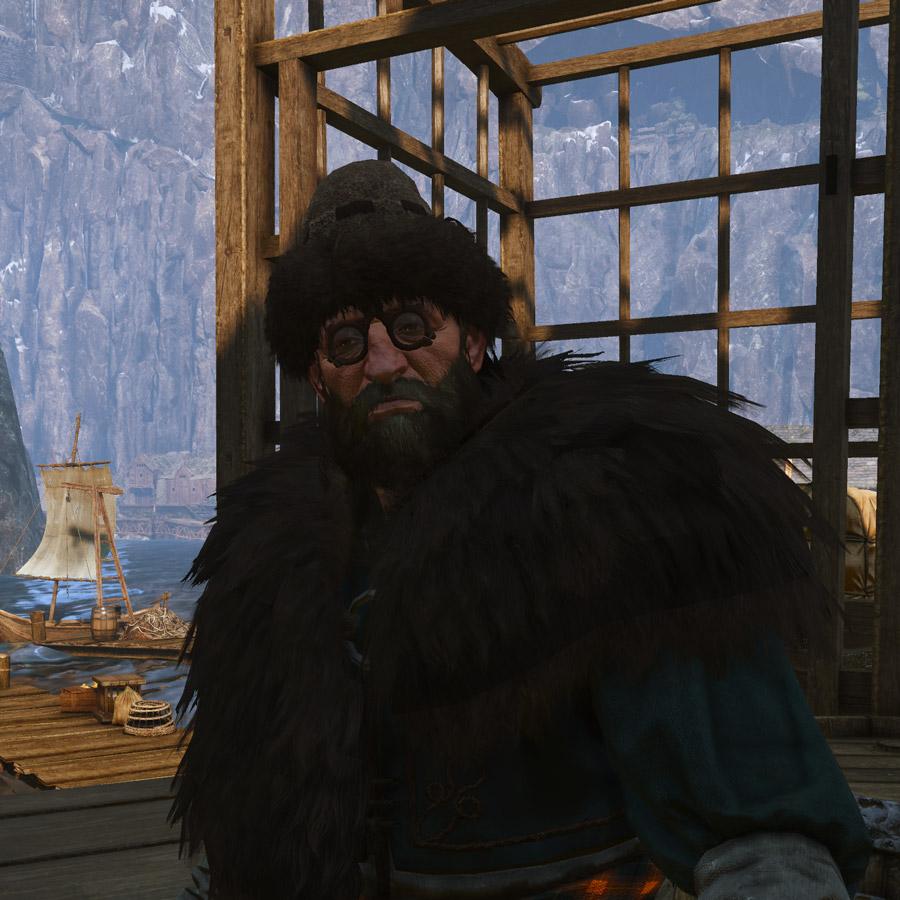 Merchant (Kaer Trolde Harbor)