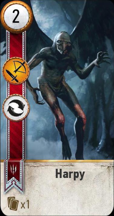Harpy (gwent card)