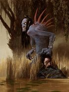 Gwent cardart monsters water hag