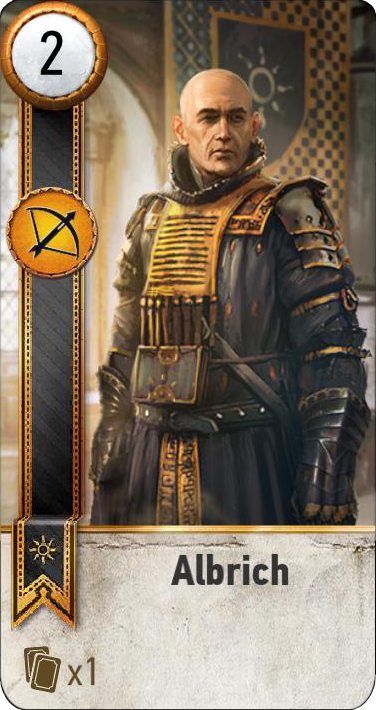 Albrich (gwent card)
