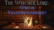 Legends of The Witcher Who is Villentretenmerth?