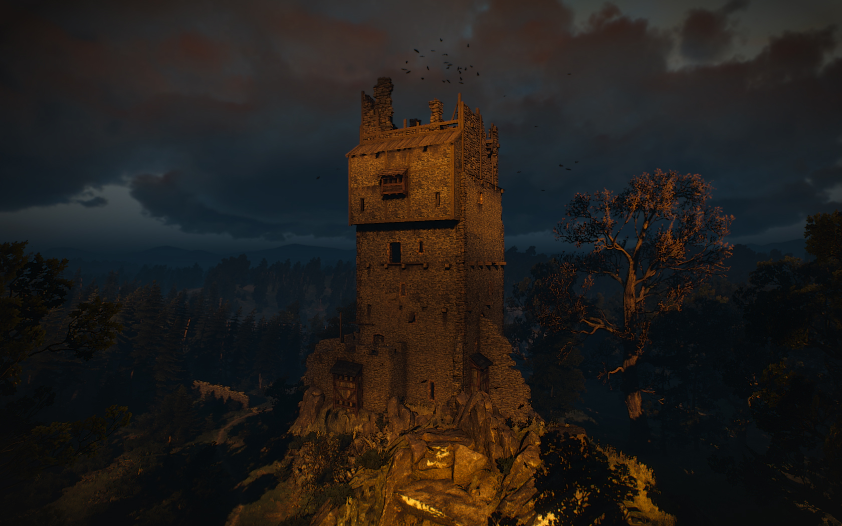 Abandoned Tower