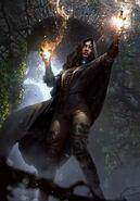 Gwent cardart neutral yennefer divination