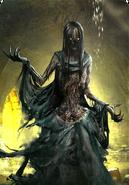 Tw3 cardart monsters plague maiden