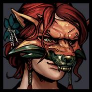 Triss Fox Mask Avatar Gwent