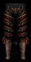 Toussaint Ducal Guard Captain's trousers