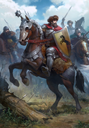 Gwent cardart northern kaedweni cavalry