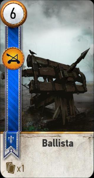 Ballista (gwent card)