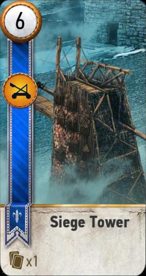 Siege Tower (gwent card)