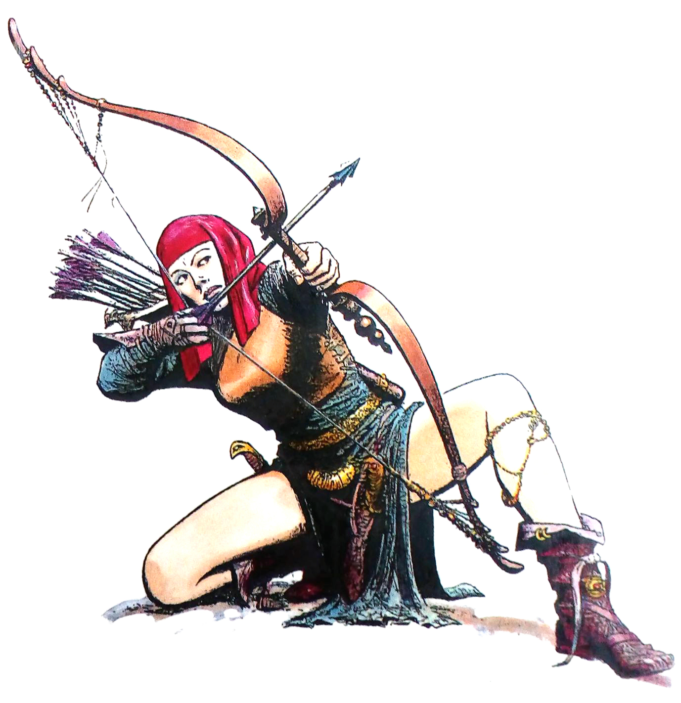 Milva's bow