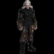 Tw2 Geralt in Raven armor