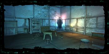 Salamandra hideout interior