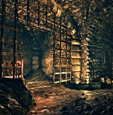 Dungeons of La Valette Castle