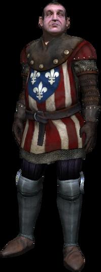 Vincent Meis, captain of the City Guard