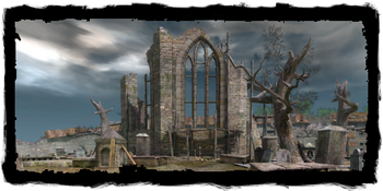 the ruined church