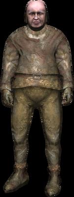 a muddy brickmaker