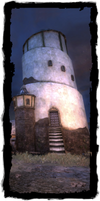 the Solitary tower