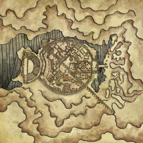 Map of Loc Muinne